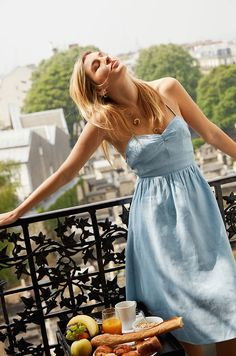 Fashion brand Reformation welcomes warm weather season with the release of a new collection. Called 'Almost French', the range features chic dresses that would fit perfectly on the streets of Paris. Reformation taps fashion blogger Camille Charrière to star in the lookbook, captured on location in the City of Light. The French-English blonde poses in …