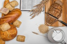 Check out Bread Header Background by GrDezign Studio on Creative Market