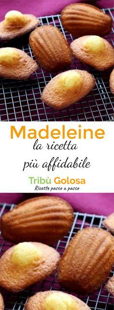 Le #madeleine sono soffici #dolcetti tipici francesi, conosciuti anche in Italia. Ecco #ricetta passo passo per preparare delle madeleine proprio come quelle francesi. #tribugolosa #gourmettribe #golosiditalia #cucina #cucinaitaliana #cucinare #italianrecipe #instafood #instagood #food #italianfood #foodstyling #yummy #foodlover #ricette #recipe #homemade #delicious #ricettefacili #madeleines