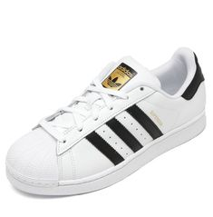 ... Originals Superstar Foundat Branco Tipo de Produto  Tenis Bico  Redondo  Tamanho  38 Fechamento  Cadarco Ocasiao Estilo  Casual Material  Sintetico  ... 993d8cf30755b