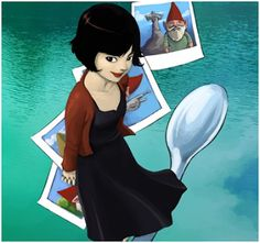 Image uploaded by Luana Nascimento. Find images and videos about ilustracao, amelie and amelie poulain on We Heart It - the app to get lost in what you love. Amelie, Teaching French, French Teacher, French Film, Audrey Tautou, French Classroom, Cinema, Nerd, French Lessons