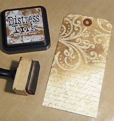 What a great use of many techniques! Click on this pin to see the step by step and finished product.