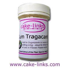 Gum Tragacanth 12g - (Cake-Links)