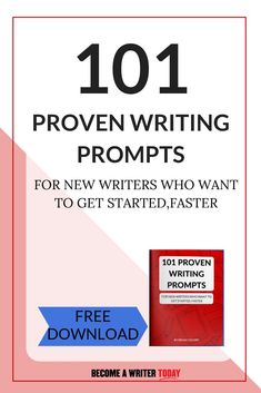Want a proven writing prompt? These free writing prompts will help you get over writer's block and start writing your book today. Writing Prompts For Writers, Writing Advice, Start Writing, Writing Skills, Writing A Book, Creative Writing Ideas, Becoming A Writer, Writer Tips, Writer's Block