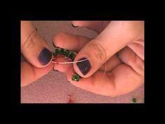 Circle Cross Weave Earrings