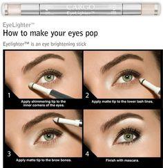 comment rendre vos yeux pop.  Il fait une telle différence