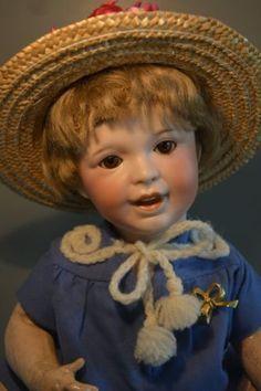 Antike-Puppe-S-F-B-J-236-42cm-1910-1930