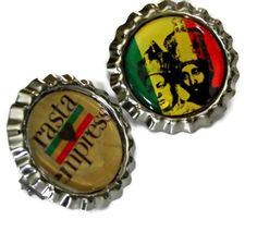 Rasta Empress & Coronation Guidance Pins by LionessXpressions, $7.99
