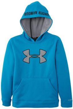 Under Armour Big Boys' Armour® Fleece Storm Big Logo Hoodie - List price: $68.20 Price: $22.50 Saving: $45.70 (67%)
