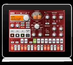 Korg iElectribe for iPad. supercharge audio data with analog-synth beat styles