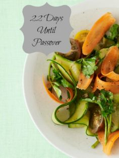 Passover Menu How to