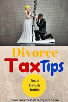 The best tax tips for divorcing homeowners. Are you getting divorced? See important tax considerations when getting a divorce. Real Estate Articles, Real Estate Tips, Divorce Attorney, Tax Preparation, Getting Divorced, Tax Deductions, Selling Your House, Real Estate Marketing, Personal Finance