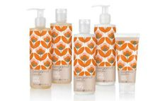 March sees the launch of Orla Kiely's Bergamot bath and body range. The fragrance is formed with essential oils including cedarwood, patchouli and notes of grapefruit and bergamot, and has a floral focus with petitgrain, neroli and orange flower extract. The line comprises of: Bergamot Hand Wash 250ml (£10), Hand Lotion 250ml (£12), Shower Gel 250ml (£12), Body Lotion 250ml (£12) and Hand Cream 100ml (£10). All products are packaged in bright orange floral printed bottles