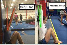 The Exact Drills I Use to Increase Overhead Shoulder Flexibility « Gymnastics Levels, Gymnastics Academy, Gymnastics Tricks, Gymnastics Skills, Gymnastics Flexibility, Gymnastics Coaching, Gymnastics Training, Stretches For Flexibility, Gymnastics Workout