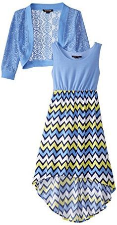 My Michelle Big Girls' Print Hi Low Maxi Dress with Jacket, Periwinkle, 7 My Michelle http://www.amazon.com/dp/B00MGTAD82/ref=cm_sw_r_pi_dp_AGFJub1JAAXJT