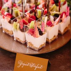 As we head into more summer events, we wanted to get creative with our go-to brunch dishes! These are the best creative brunch bites for your next party. # Food and Drink ideas bridal shower Creative Brunch Bites for Your Next Party - Inspired By This Dessert Party, Snacks Für Party, Brunch Party Foods, Brunch Appetizers, Baby Shower Appetizers, Bridal Shower Foods, Brunch Finger Foods, Party Desserts, Mini Desserts