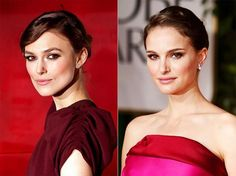 Keira Knightley and Natalie Portman. These two successful Hollywood celebrities are just two on our list of celebrities who look like other celebrities. The list also includes Megan Fox/Angelina Jolie and Jessica Alba/Alicia Keys.