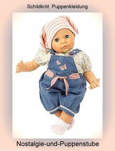 Schildkröt Puppenkleidung von Baby Julchen, Latzhose... nur 52.90 EUR