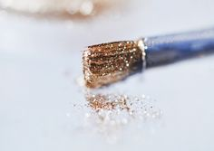 sparkly paintbrush... two of my favorite things