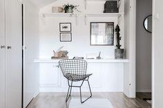 attic studio in Sweden
