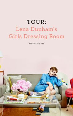 Step inside the Girls dressing room of Lena Dunham