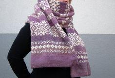 Scarf Knitting Pattern | Fair Isle Scarf PDF Pattern | DK Yarn Scarf Pattern | Norrsken Scarf Snood Knitting Pattern, Fair Isle Knitting Patterns, Beanie Pattern, Hand Knitting, Hand Knit Scarf, Wool Scarf, Blanket Scarf, Fingering Yarn, Knit In The Round