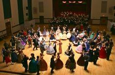 Civil War Ball reenactment