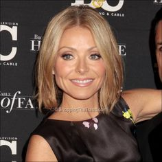Kelly Ripa short hair -  Broadcasting & Cable's Hall of Fame awards dinner