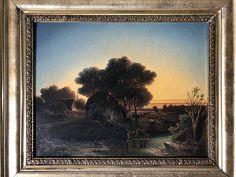 Stefan Szczesny, Steinmetz, Paintings, Frame, Oil On Canvas, Old Pictures, Landscape Pictures, Art Prints, Clouds