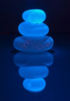 Blue Sea Glass Reflection by Mike Ridley. Azul Indigo, Bleu Indigo, Le Grand Bleu, Everything Is Blue, Blue Aesthetic, My Favorite Color, Cobalt Blue, Shades Of Blue, Sea Glass