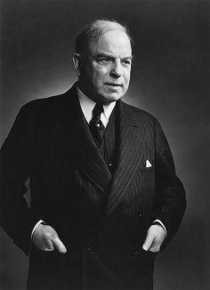 William Lyon Mackenzie King 1939 by Yousuf Karsh