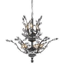Orchid 8 light Dark Bronze Chandelier Clear Swarovski® Elements Crystal Elegant Lighting - The ethereal splendor of Orchid collection chandeliers adds floral-inspired fantasy to your palace. Tiers of delicate steel branches shine in chro Bronze Chandelier, Chandelier Lighting, Cabin Chandelier, Kitchen Chandelier, Ceiling Lighting, Ceiling Fixtures, Light Fixtures, Bubble, Transitional Chandeliers