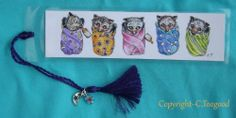 Nfac Orig Bookmark Baby Bunting Bats Flying Foxes Aust Wildlife Native Animal Ct | eBay