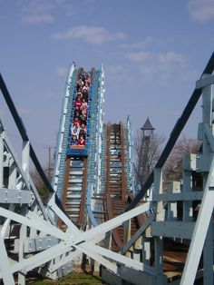 Blue Streak, Cedar Point    Favorite ride and forever will be.