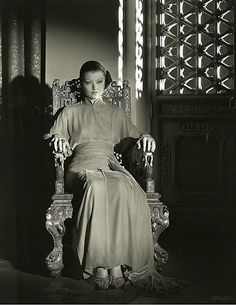 Myrna Loy in The Mask of Fu Manchu (1932). Gowns by Gilbert Adrian.