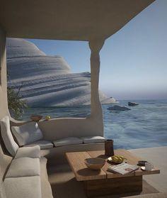 Interior Architecture, Interior And Exterior, Interior Design, Villa, Travel Aesthetic, Summer Aesthetic, House Goals, Dream Vacations, Vacation Travel