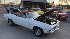 1968 Chevelle Convertible $28,900 Maple Motors #873 I Love America, Chevrolet Chevelle, Automatic Transmission, Motors, Convertible, Car, Infinity Dress, Automobile, Motorbikes