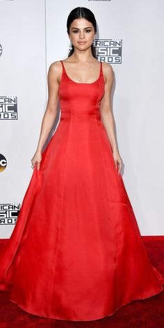 The Best Red Carpet Looks from the 2016 American Music Awards - Selena Gomez from InStyle.com