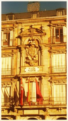 Plaza Mayor, Madrid,Spagna.