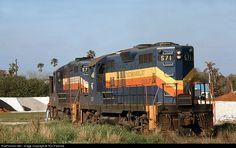 RailPictures.Net Photo: SGR 571 Seminole Gulf EMD GP9 at Punta Gorda, Florida by Tom Farence