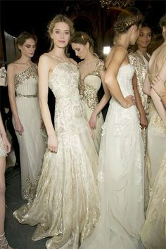 Zuhair Murad Often Adrienne Boy is in this position with girls and girl-boys, every of us bridesmaid