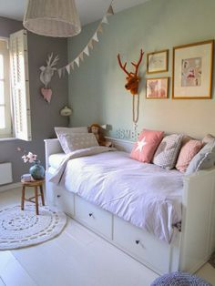 BABY ROOM INSPIRATION. that ikea bed could be useful in the nursery