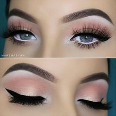 Pretty eye makeup is