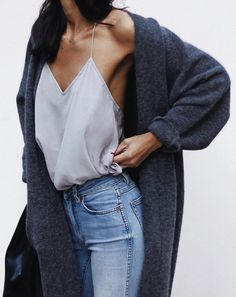pastel top   cape   jeans outfit