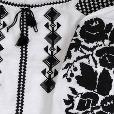 Linen blouse vyshyvanka with black embroidery, embroidered blouse. 100% linen. Ornamental design is embroidered with cross, flossy acrylic thread. Bust (Measure around fullest part) XS -80 (cm) 31,5 (inch) S 84-88(cm) 33-35,5(inch) M 92-96(cm) 36.2-37,7(inch) L 100-104(cm) 39,3-40,9(inch) XL