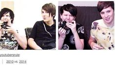 Oh Phil xD I ALSO JUST REALIZED THAT THEY HAVE BOTH CHANGED THE DIRECTION THAT THEIR HAIR GOES SINCE 2010