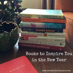 Inspiring + Motivating Personal Development Book List