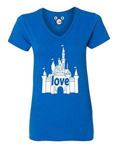 I Love That Disney Castle TShirt Medium Royal Blue -- Check out this great product.