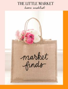 At Bonjour Chiara HQ we love to refresh the house for Spring and our best founds come from The Little Market, a non profit e-shop founded by Lauren Conrad and Hanna Skvarl. Amazing Shopping, Reusable Tote Bags, Interiors, Marketing, Bonjour, Decoration Home, Decor, Deco