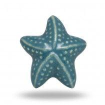 Ceramic Starfish Knob
